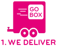 Go Box Self Storage Trailer Illustration
