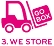 Unload and Store GoBox Illustration