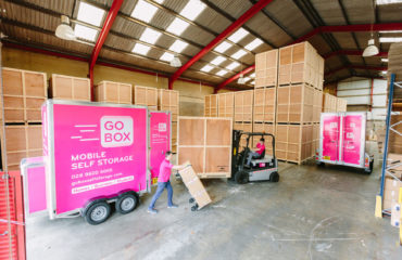 GoBox Self Storage Belfast Storage Centre Packing the GoBox Storage Box