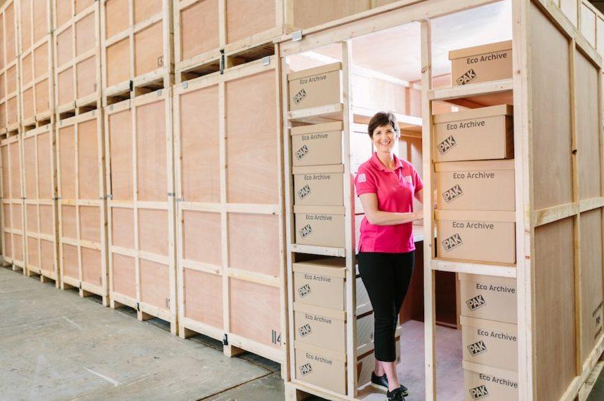 Business Archive Storage Unit