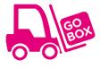GoBox Forklift Storing Transparent Illustration